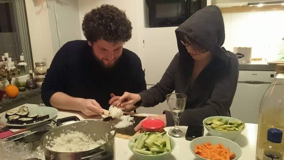 Making Sushi!